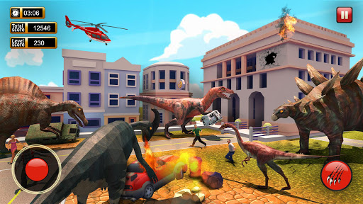 Monster Dinosaur Simulator: City Rampage 1.21 screenshots 2