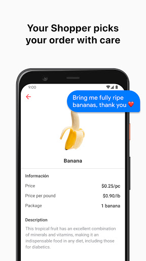 Cornershop by Uber: Grocery Delivery 2.5.6 screenshots 2