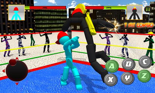 Stickman Wrestling 2.2 screenshots 1