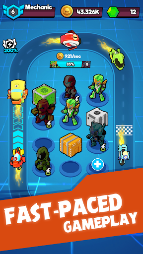 Merge Robots - Click & Idle Tycoon Games 1.6.5 screenshots 11