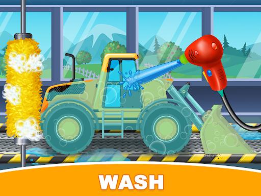 Construction Trucks & Vehicles : Build House Apkfinish screenshots 4