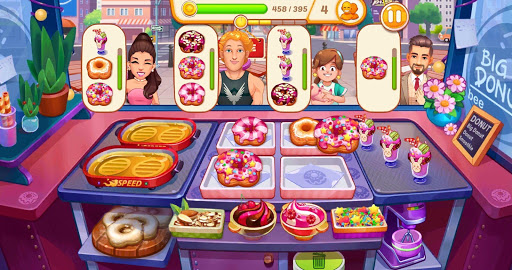 Crazy Cooking: Craze Restaurant Chef Cooking Games screenshots 1