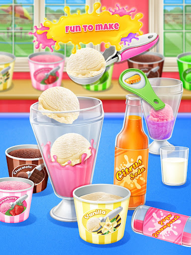 Ice Cream Soda - Summer Sweet Icy Drink Maker screenshots 10