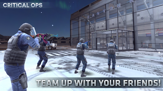 Critical Ops: Online Multiplayer FPS Shooting Game 1.22.0.1288 APK + Mod (Unlimited money) for Android