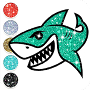 Baby Shark Coloring Book Glitter App Store Data Revenue Download Estimates On Play Store