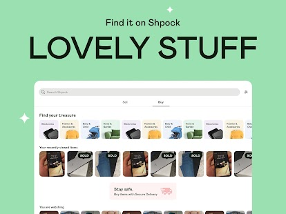 Shpock | The Joy of Selling. Buy, Sell & Shopping Screenshot