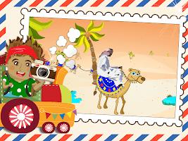 Little Traveller: Learning Games for Toddler Baby