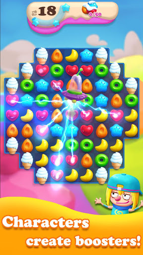 Crazy Candy Bomb - Sweet match 3 game 4.6.1 screenshots 6