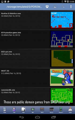 MasterGear - MasterSystem & GameGear Emulator 4.7.1 screenshots 9