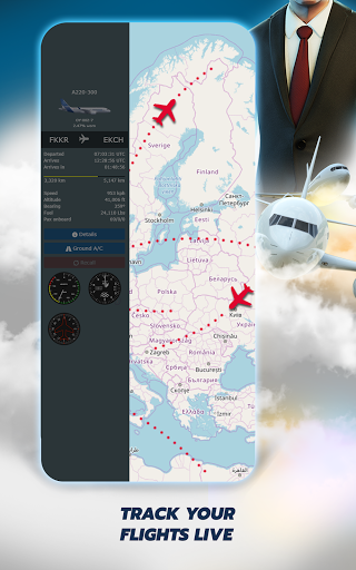 Airline Manager 4 - Plane Tycoon 2021  screenshots 16