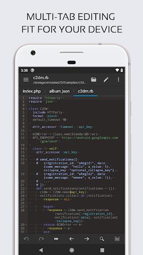 Code Editor 0.4.3 Screenshots 3