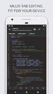 Code Editor Mod Apk (Premium/Paid Features Unlocked) 3