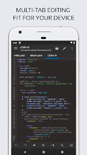Code Editor Screenshot