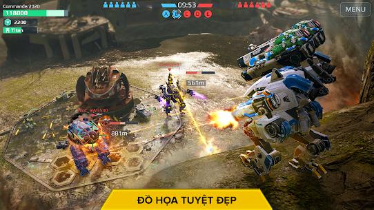 War Robots. Game Chiến thuật Nhiều người chơi 6v6 2