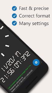 AtomicClock — NTP Time (with widget) Mod Apk (Pro  Unlocked) 2