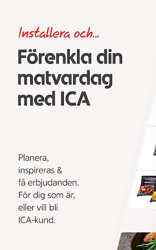 ICA – recept, erbjudanden och inköpslista  screenshots 1