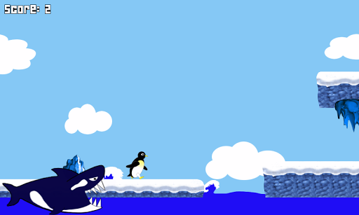 penguin fly! : relaxing game screenshot 2