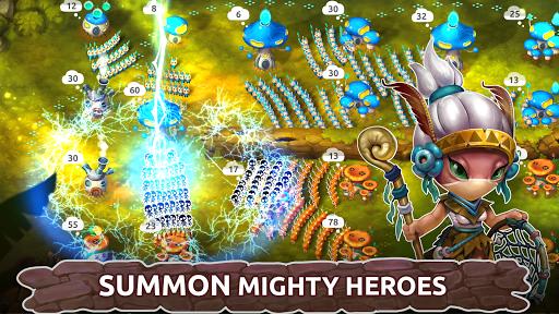 Mushroom Wars 2: Real-time war strategy ud83cudf44 Defense  screenshots 4