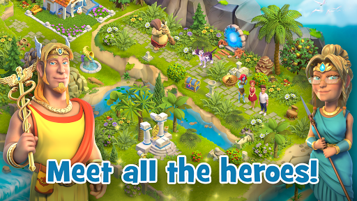 Land of Legends: Building games. Build your city apktram screenshots 14