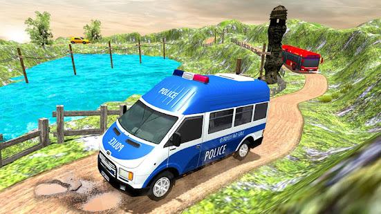 US Police Car Chase Driver:Free Simulation games screenshots 4