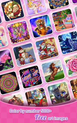 Tap Color- Color by Number Art Coloring Game 5.1.0 screenshots 14