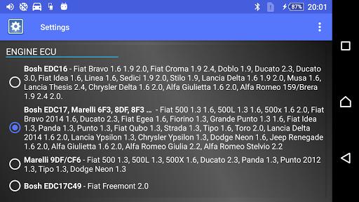 DPF Monitor for Fiat & Alfa Romeo  Screenshots 10