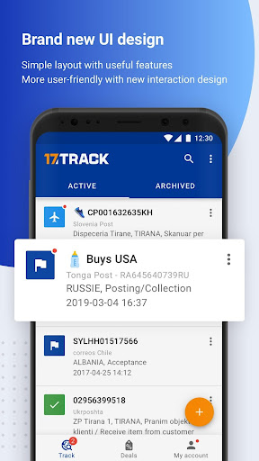 ALL-IN-ONE PACKAGE TRACKING 3.1.4381 screenshots 1