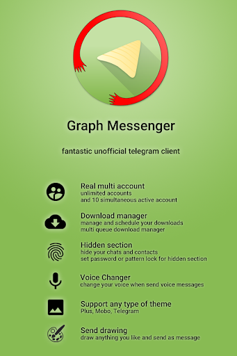 Graph Messenger screen 0