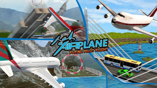 Flying Plane Flight Simulator 3D - Airplane Games modavailable screenshots 5