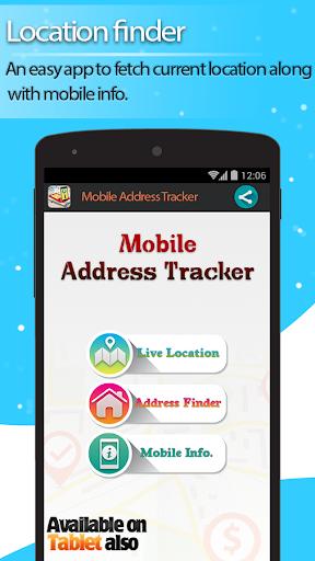 Live Mobile address tracker 1.9.45 screenshots 1