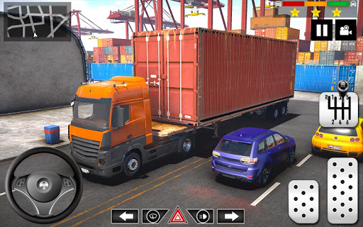 Cargo Delivery Truck Parking Simulator Games 2020  screenshots 6
