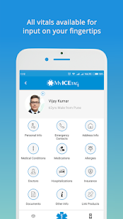 MyICETag - Medical Profile In Case of Emergency