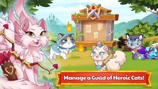 Castle Cats - Idle Hero RPG 3.0.4 screenshots 1