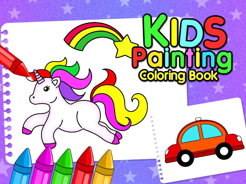 Kids Painting & Coloring Book for Creative Childs