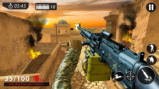 FPS Commando New Game 2020: Shooting Free Games Game Hack Android and iOS 3