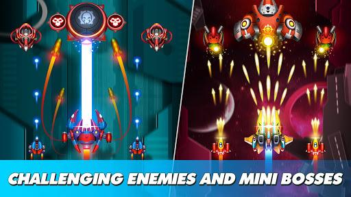 Thunder Fighter Superhero: Strikers Shoot 'Em Up 5.7 screenshots 2