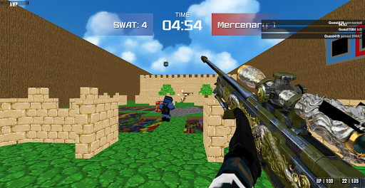Shooting Advanced Blocky Combat SWAT  screenshots 9