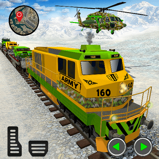 Real Army Mission Train Transport Tank Games 2021