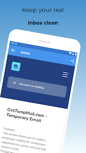 GetTempMail Pro v1.0.0 [Paid] 3