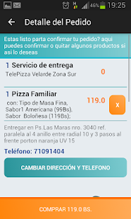 Patio Service - Delivery de Comida y Transporte Screenshot