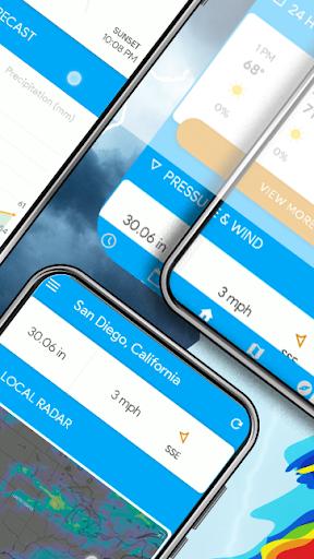 Weather Home - Live Radar Alerts & Widget  screenshots 5
