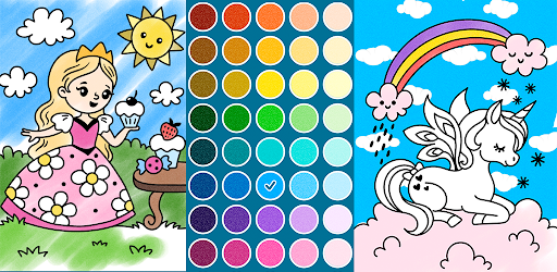 Coloring pages for little princesses  screenshots 6