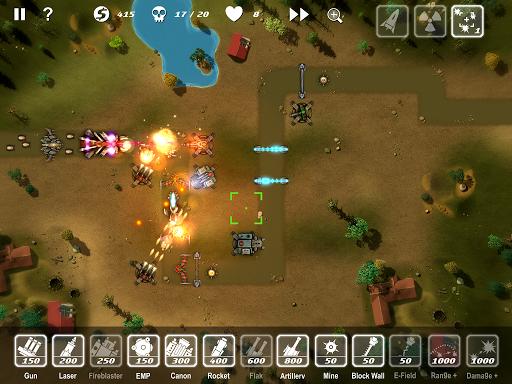 M.A.C.E. tower defense 1.54 screenshots 1