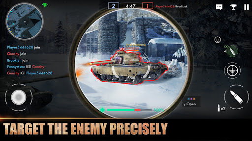 Tank Warfare: PvP Blitz Game  screenshots 12