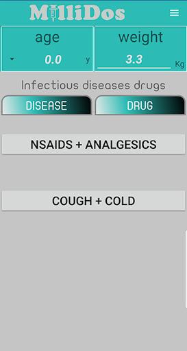 Millidos - Pediatric Drug Dosages  Screenshots 2