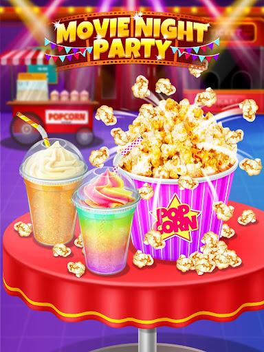 Crazy Movie Night Food Party - Make Popcorn & Soda 1.4 screenshots 8