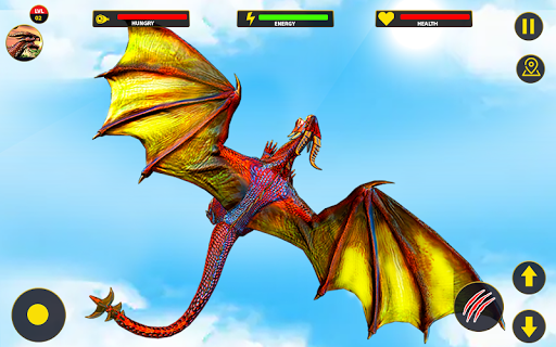 Flying Dragon City Attack 1.0.16 screenshots 6