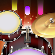 Drum Live: Real drum set drum kit music drum beat