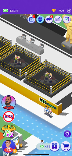 Idle GYM Sports - Fitness Workout Simulator Game 1.39 screenshots 7