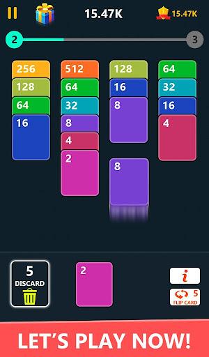 Code Triche 2048 Solitaire Card Game - 2048 Zen Cards (Astuce) APK MOD screenshots 1